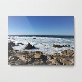 Tumultuous Ocean Metal Print