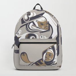 Coffee with milk Backpack