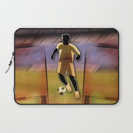 Soccer Player Laptop Sleeve