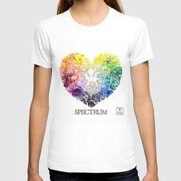 Spectrum Rainbow Heart T-shirt