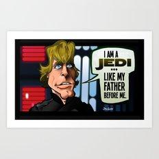 Like Father, Like Son (Return of the Jedi) Art Print