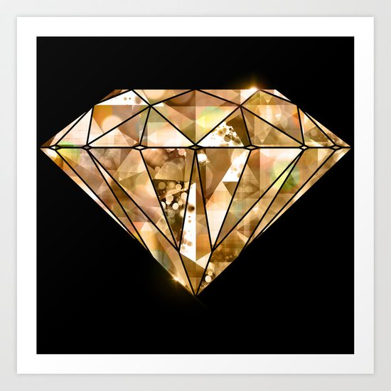 Facets you like Art Print