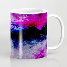 pink and black Coffee Mug