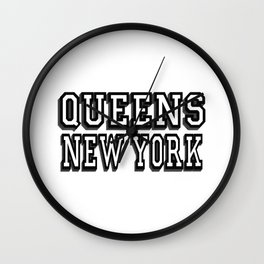 queens Wall Clock