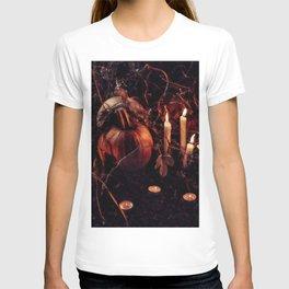 Pumpkins And Candles 1 T-shirt