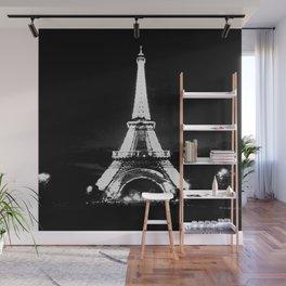 Paris Black & White Wall Mural
