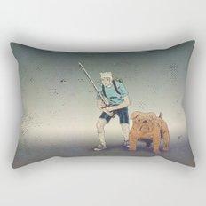 Time for Adventuring Rectangular Pillow