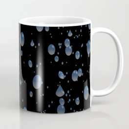 Water drops with background Coffee Mug
