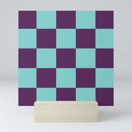 Checker Patchwork Lares Mini Art Print
