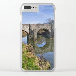 Teston Bridge Clear iPhone Case