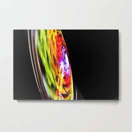 Cyclic Motion Metal Print