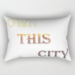 Own This City Rectangular Pillow