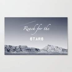Reach for the Stars (b&w)  Canvas Print