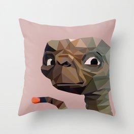 E.T. graphic | feyerabend illustration Throw Pillow
