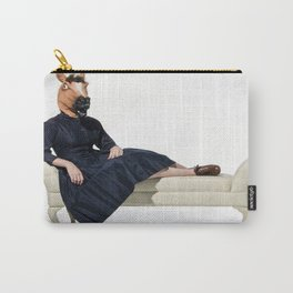 Fainting chair horse Carry-All Pouch