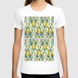indian cucumbers balinese ikat print mini T-shirt