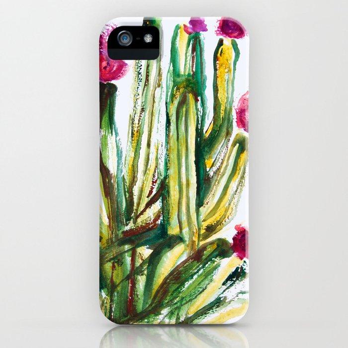 Crazy Cactus iPhone Case