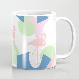 Flamingo blues motif Coffee Mug