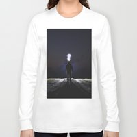 jack frost Long Sleeve T-shirts featuring Frost by Tanner Albert