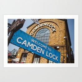 Camden market Art Print