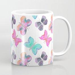 Watercolor Butterflies Coffee Mug