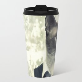 Fancy Cat Travel Mug