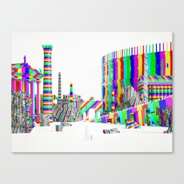 Color-Block Capriccio Canvas Print