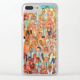 Gran tribuna argentina Clear iPhone Case