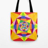 fibonacci Tote Bags featuring FIBONACCI  by PlanetLOUDville
