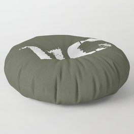 11C Indirect Fire Infantryman (Mortarman) Floor Pillow