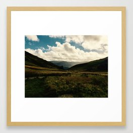 Snowdonia Landscape Framed Art Print