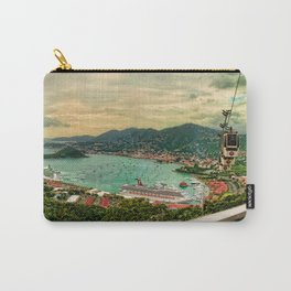 A View from Above St. Thomas Carry-All Pouch