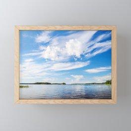 Saimaa Lake In Finland Framed Mini Art Print