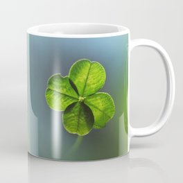 Lucky Four Leaf Clover Coffee Mug