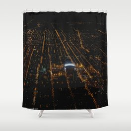 United Center: A Standout Arena (Chicago Architecture Collection) Shower Curtain