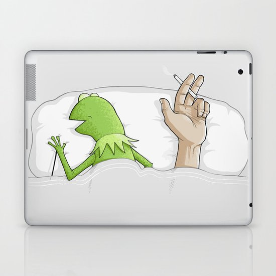 Crazy night Laptop & iPad Skin