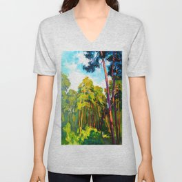 Whisper of pines Unisex V-Neck