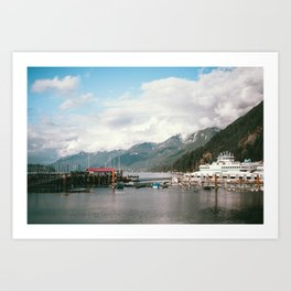 Horseshoe Bay Art Print