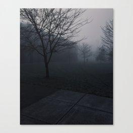 The Mist Canvas Print