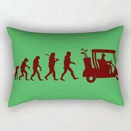 Evolution - golf Rectangular Pillow