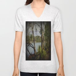 The Mighty Murray River Unisex V-Neck