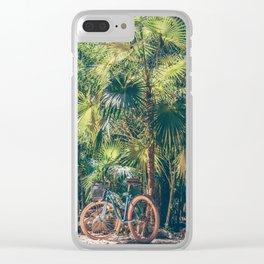 Bicicleta y Selva Clear iPhone Case