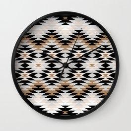 New Mexico in Tan Wall Clock