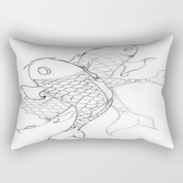 Koi Rectangular Pillow