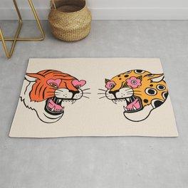 Tiger & Cheetah Rug