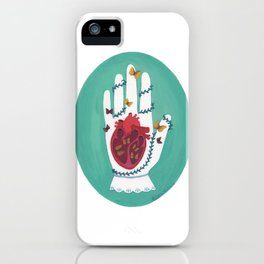 At the Mercy of Nature iPhone Case