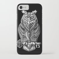 bioworkz iPhone & iPod Cases featuring Great Horned Owl by BIOWORKZ