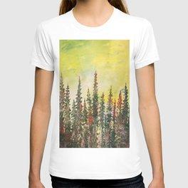Green Pine Trees  T-shirt