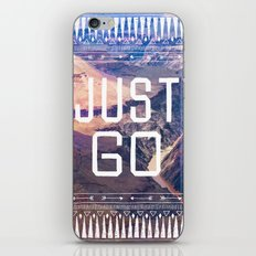 JUST GO iPhone & iPod Skin