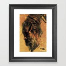 Reggae Poster Framed Art Print